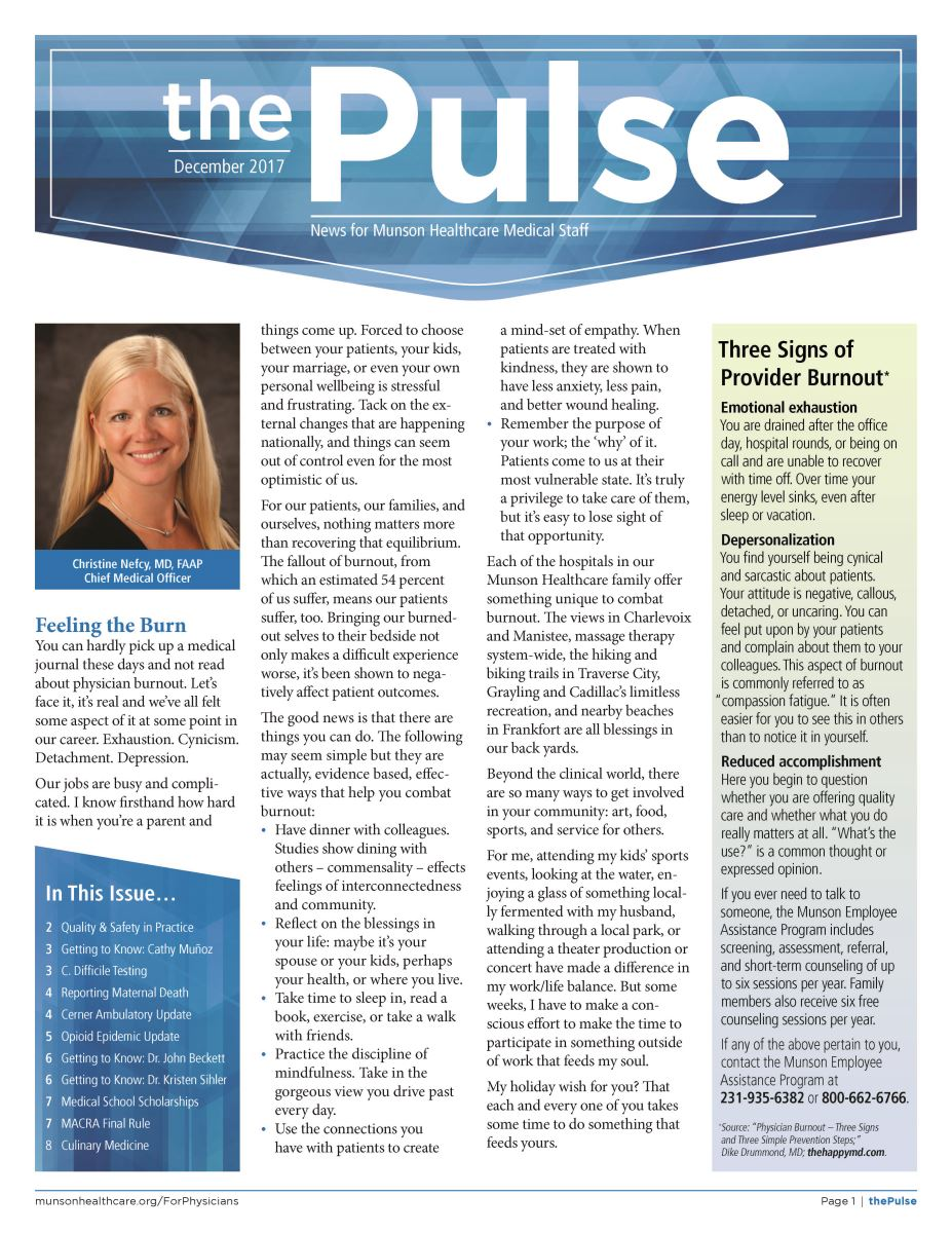 The Pulse - December 2017