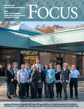 Winter 2016 Focus cover