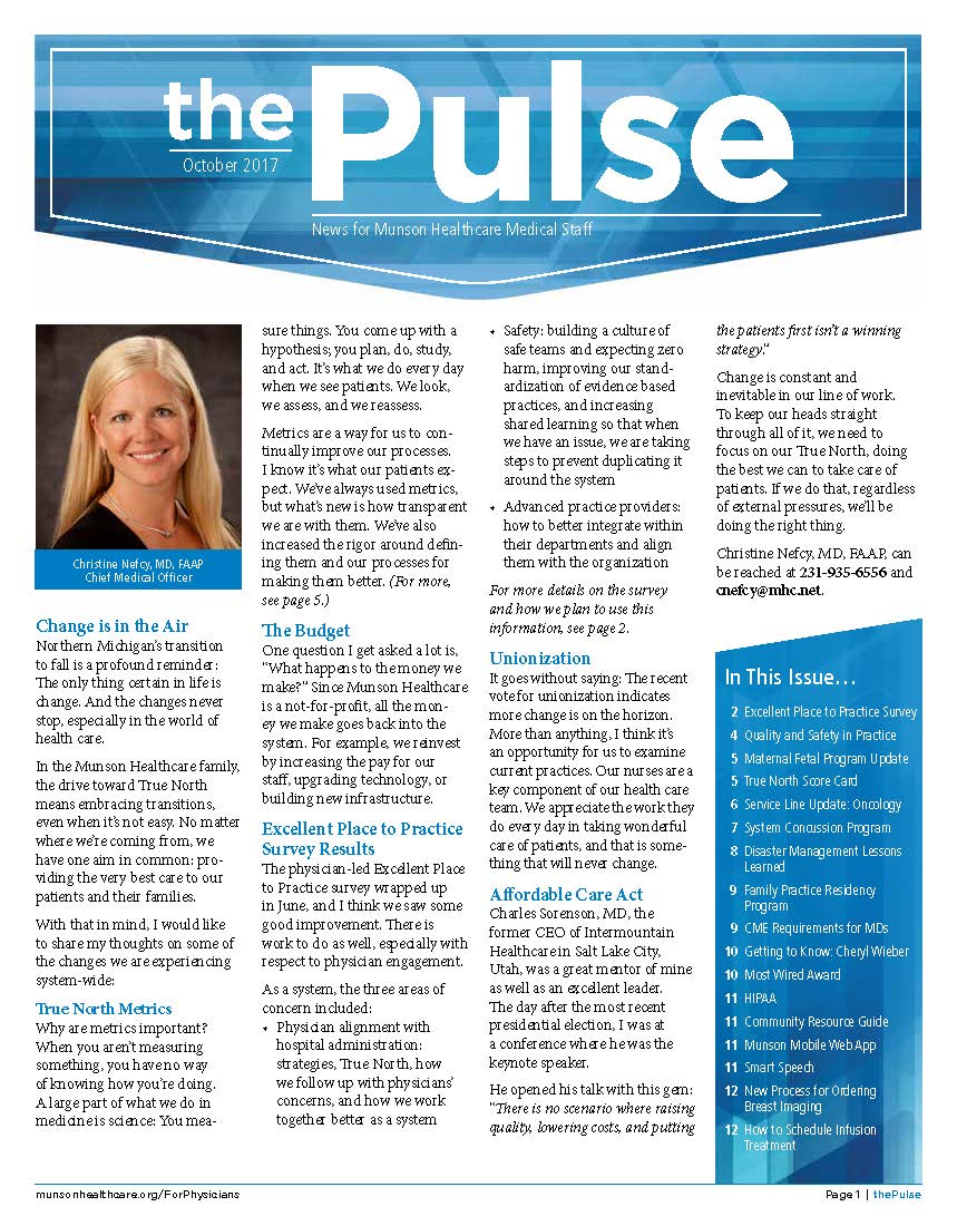 The Pulse - October 2017
