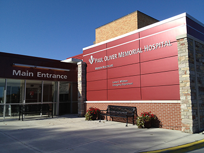 Paul Oliver Memorial Hospital in Frankfort, Michigan