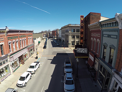 Downtown Manistee, Michigan