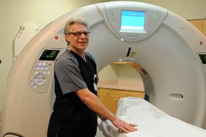 Imaging services at Manistee Hospital