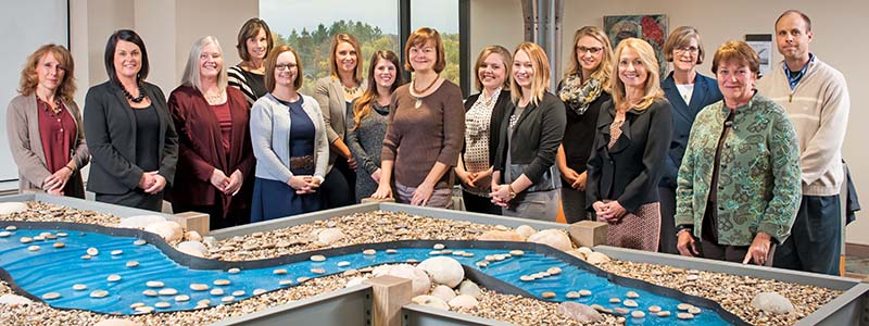 Munson Healthcare Foundations staff