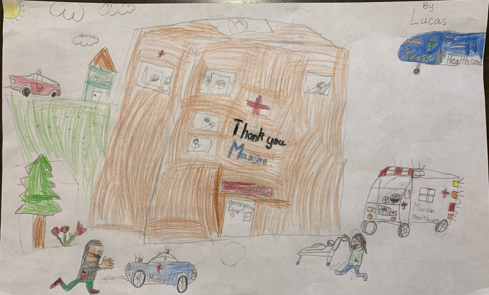 Munson Healthcare Heroes Poster Contest