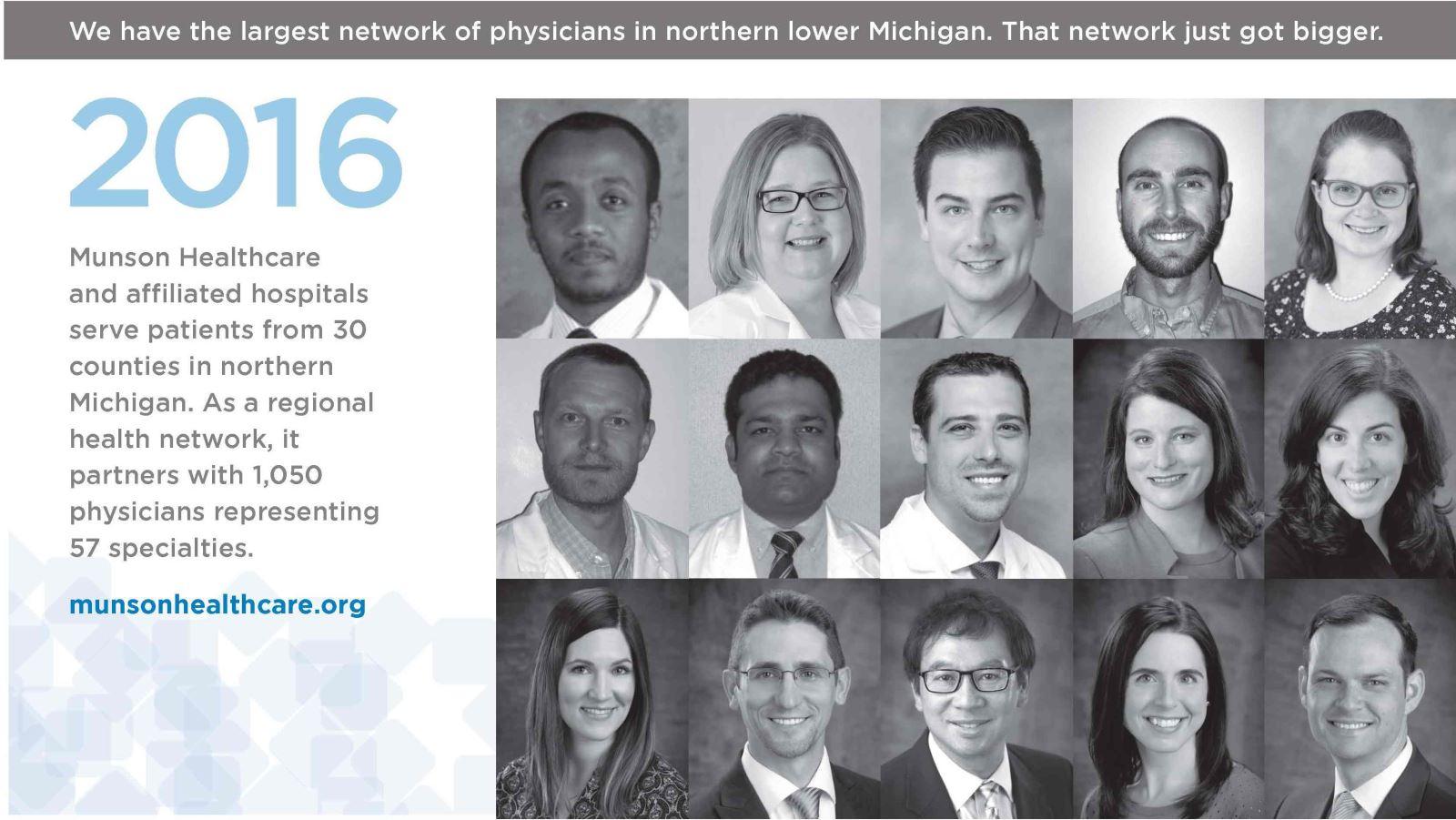 Munson Healthcare New Physicians   Munson Healthcare