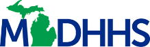 Michigan Department of Health and Human Services logo