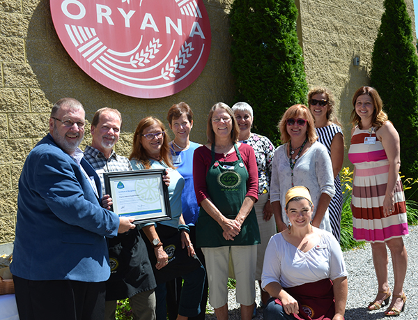 Oryana Natural Foods Market receives award