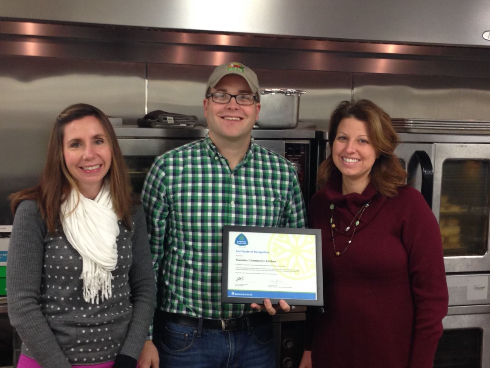 Manistee Community Kitchen receives award