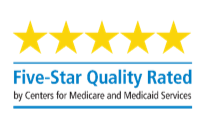 Five-Star Quality Rated by Centers for Medicare and Medicaid Services