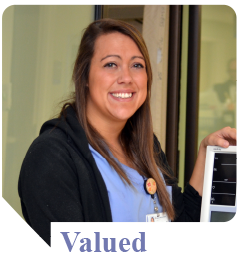Rachael is a nursing assistant at Munson Medical Center