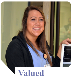 Rachael feels valued as a nursing assistant at Munson Medical Center