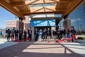 Cowell Family Cancer Center ribbon cutting