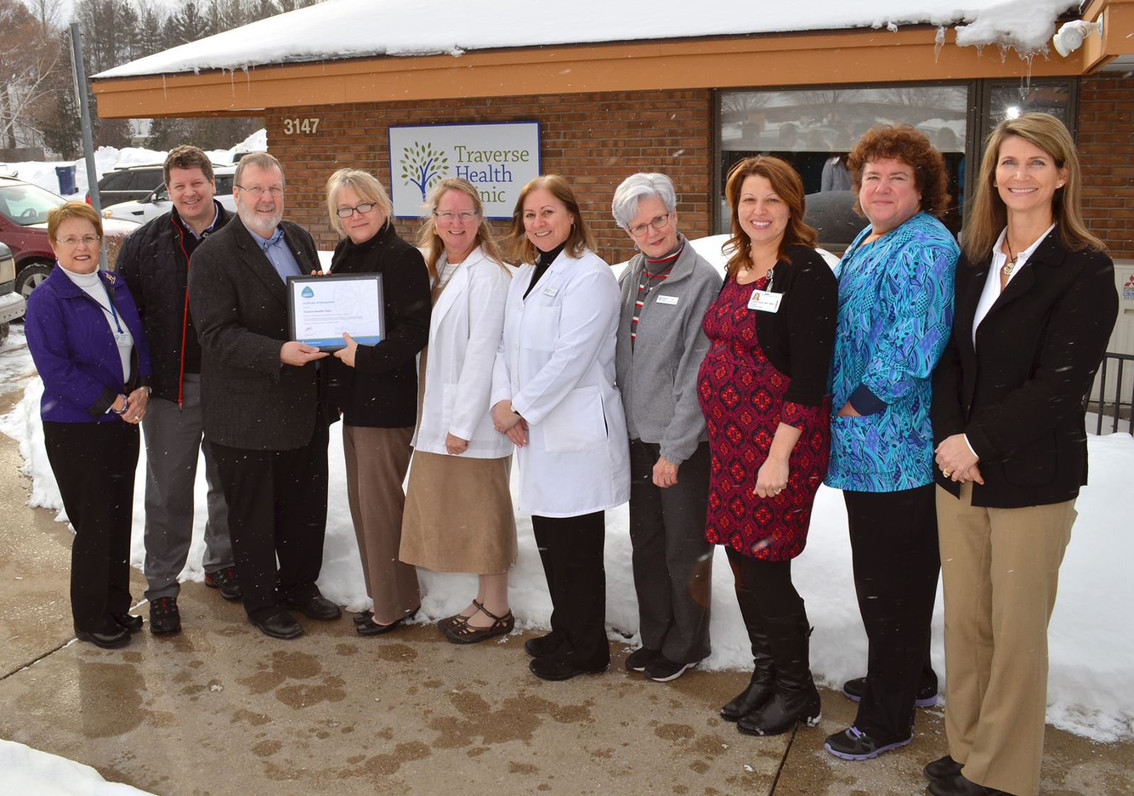 Traverse Health Clinic receives award