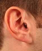 Open fit the ear hearing aid