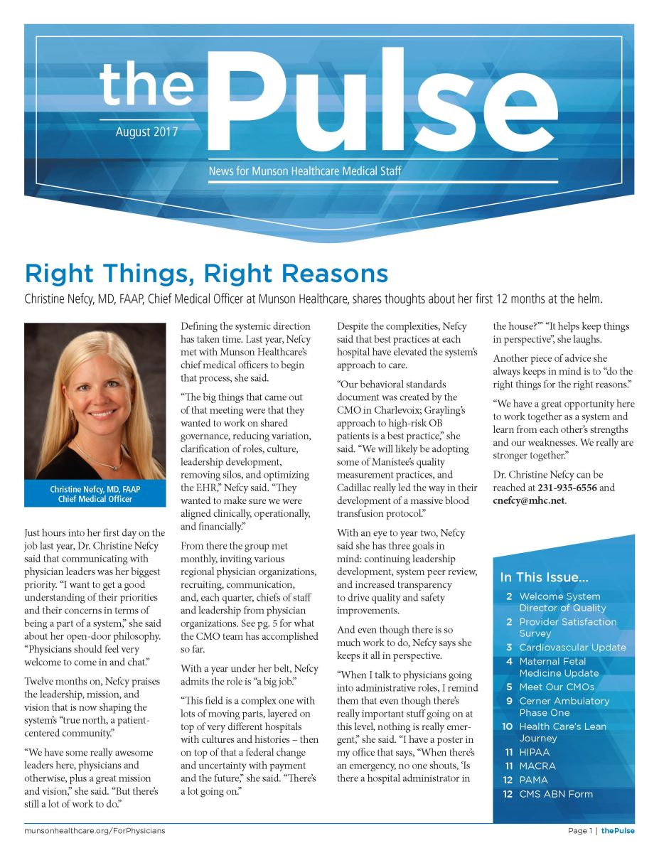 The Pulse - August 2017